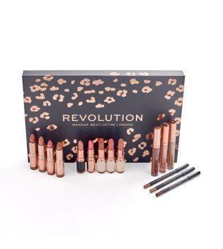 Revolution - Lip Revolution Nudes 2019 de Maquillalia en 21 Buttons