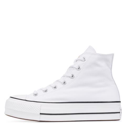 Converse Chuck Taylor All Star Platform High Top White, Black