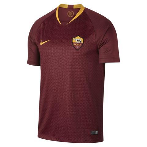 2018/19 A.s. Roma Stadium Home Camiseta De Fútbol - Hombre - Rojo