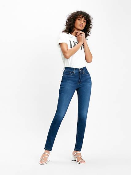 311™ Shaping Skinny Jeans Negro / London Dark Indigo de Levi's en 21 Buttons
