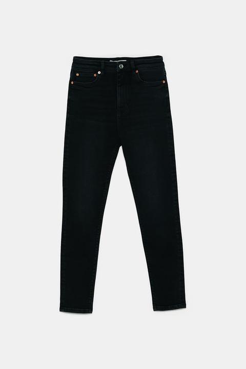 Jeans Zw Premium 80s High Waist Shadow Black
