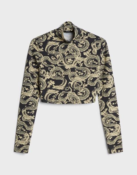 Camiseta Cropped Dragones