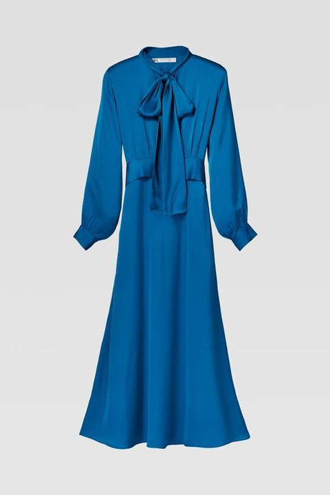Vestido Lazo de Zara en 21 Buttons