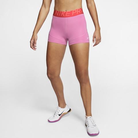 Nike Pro Pantalón Corto De 8 Cm - Mujer - Rosa