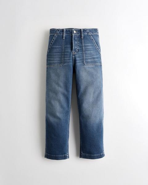 8a2f775310 Chicas Jeans Boyfriend De Tiro Alto Con Elasticidad Vintage from ...