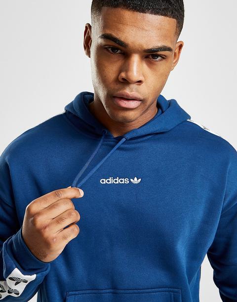 mejor mayorista zapatos genuinos mejor selección Adidas Originals Sudadera Con Capucha Tape - Only At Jd, Azul from Jd  Sports on 21 Buttons