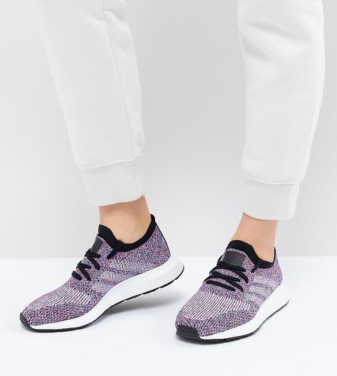 Adidas Originals - Swift Run - Bunte Primeknit-sneaker - Schwarz from ASOS on 21 Buttons