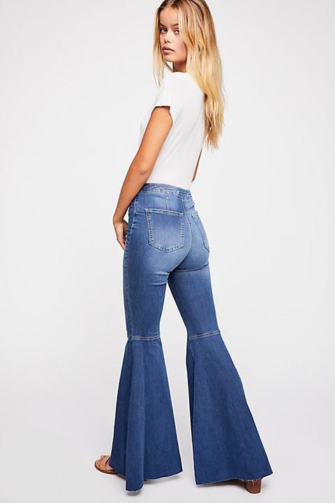 Just Float On Flare Jeans de Free People en 21 Buttons