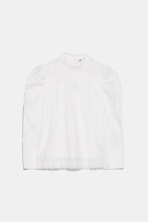 Blusa Combinada Popelín
