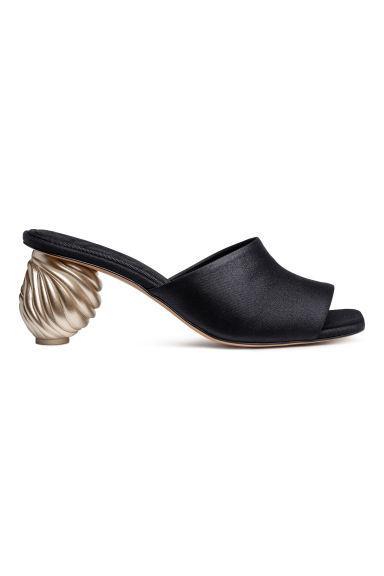 Sandalias Sin Cierre - Negro de H&M en 21 Buttons