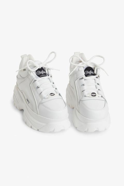 Buffalo London Platform Sneakers - White