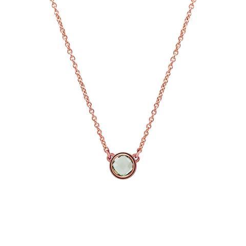 Colgante Chatón Plata Recubierta Oro Rosa de Aristocrazy en 21 Buttons