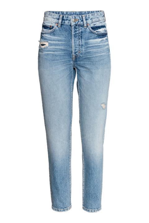 modischer Stil gute Textur eine große Auswahl an Modellen Mom Jeans - Blue - Damen from H&M on 21 Buttons