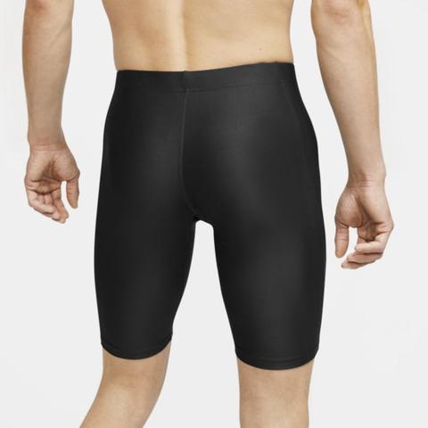 Nike Dri-fit Fast Men's 1/2-length Running Tights - Black