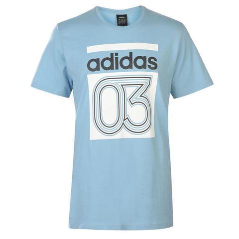 adidas t shirt sports direct