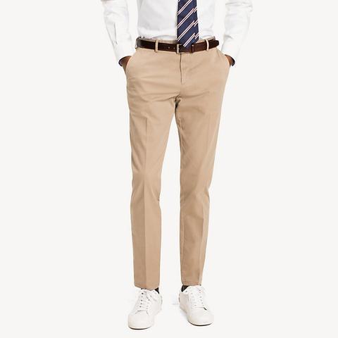 Pantalones De Sarga De Algodón de Tommy Hilfiger en 21 Buttons