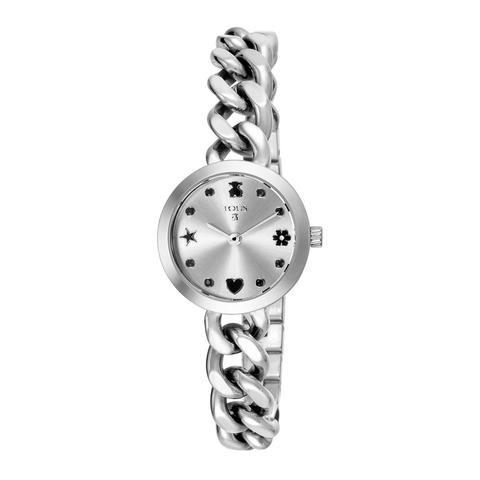 Reloj Mini Motif De Acero Con Espinelas de Tous en 21 Buttons