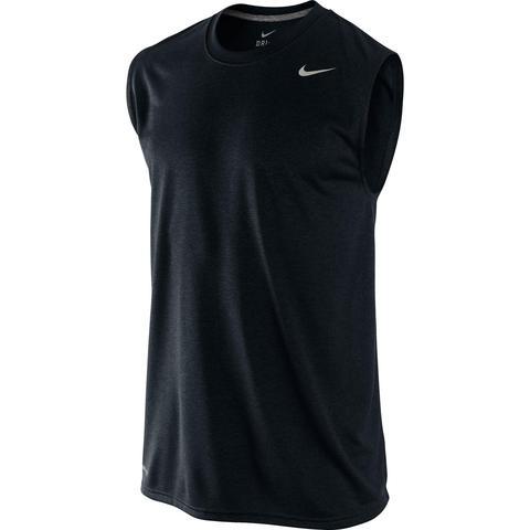 tumor No lo hagas Convertir  Camiseta Sin Mangas Deportiva Nike Fitnes Cardio Hombre Negro from Decathlon  on 21 Buttons