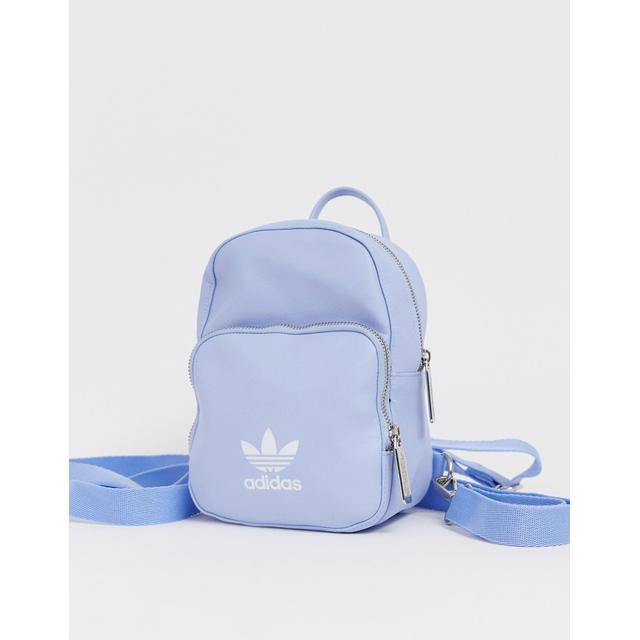 Adidas Originals Mini Backpack In Pale
