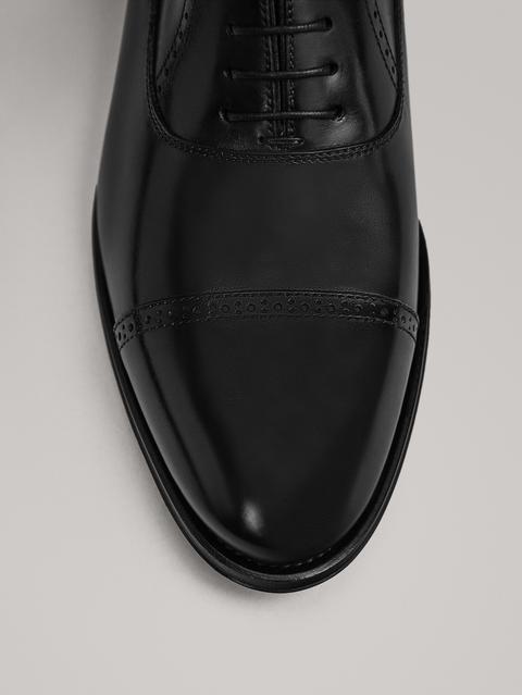 Zapato Piel Negro de Massimo  Dutti en 21 Buttons
