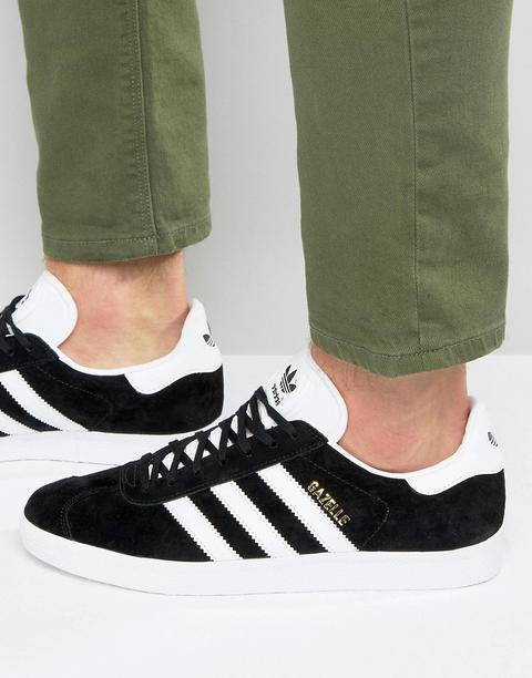 Zapatillas De Deporte Negras Gazelle Bb5476 De Adidas Originals