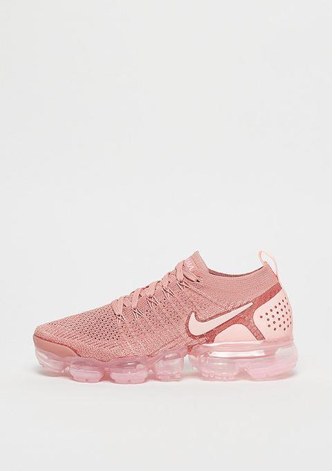 vapormax flyknit rust pink
