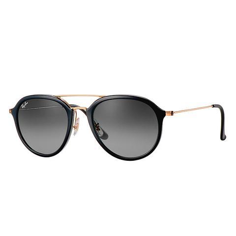 Rb4253 Hombre Sunglasses Lentes: Gris, Montura: Oro