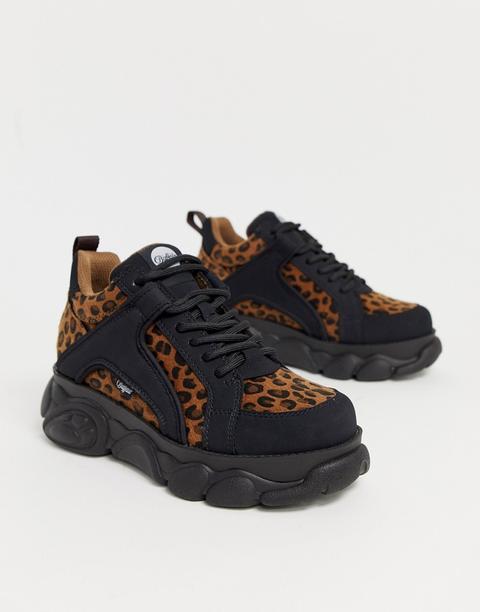 buffalo shoes leopard