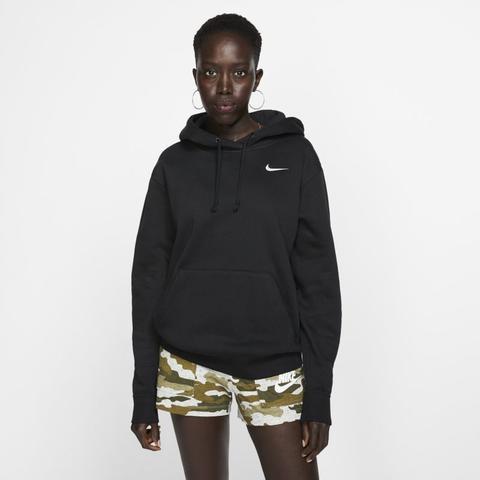 zeitloses Design 6bc31 a066c Nike Sportswear Essential Fleece-hoodie Für Damen - Schwarz from Nike on 21  Buttons