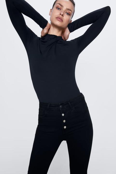 Jeans Zw Premium High Waist Fly Button