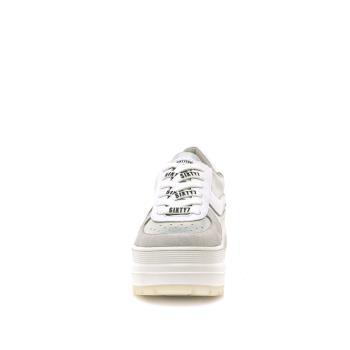 Sneaker Besty Blanco-plata