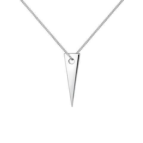 Colgante Triángulo Plata