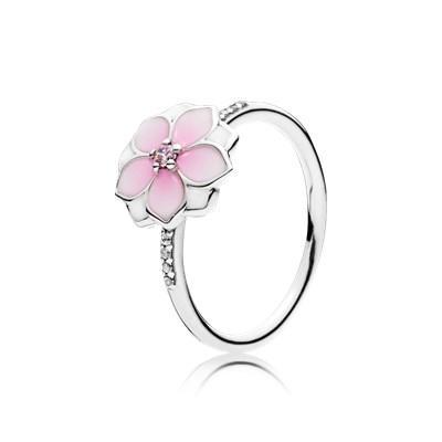 anello a fiore pandora