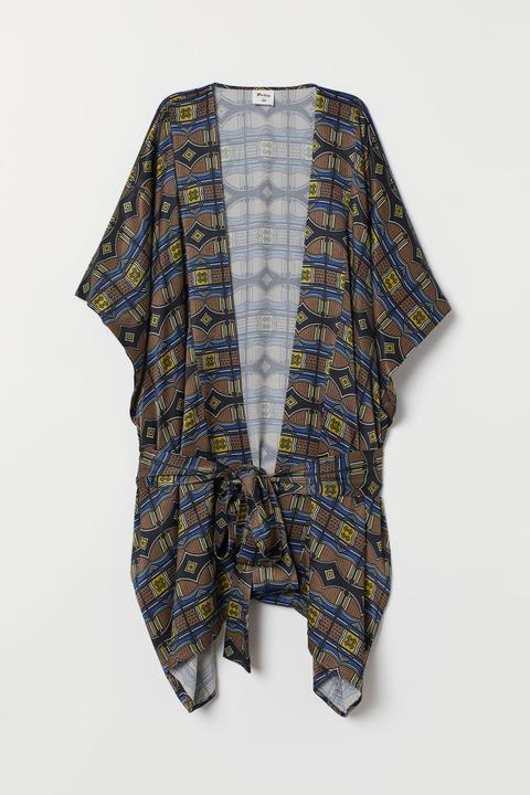 Kimono Estampado - Beis de H&M en 21 Buttons