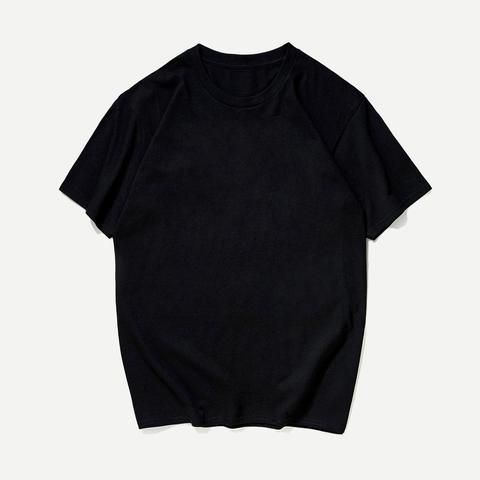 Camiseta Básica Sólida De Hombres de SheIn en 21 Buttons