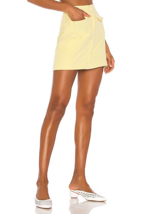Minifalda Gala de Revolve en 21 Buttons