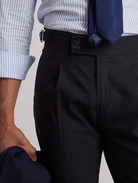 Pantalon Vestir Tailoring Gris Oscuro de Silbon en 21 Buttons