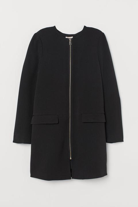 joli design Vente de liquidation 2019 rechercher le meilleur H & M - Manteau Court - Noir from H&M on 21 Buttons