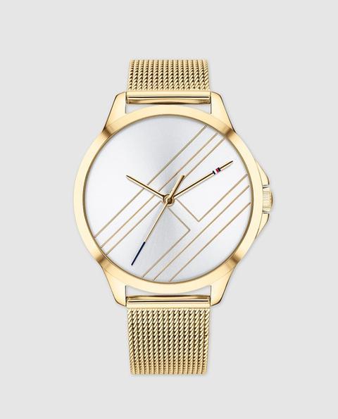 Tommy Hilfiger - Reloj De Mujer De Acero Dorado de El Corte Ingles en 21 Buttons