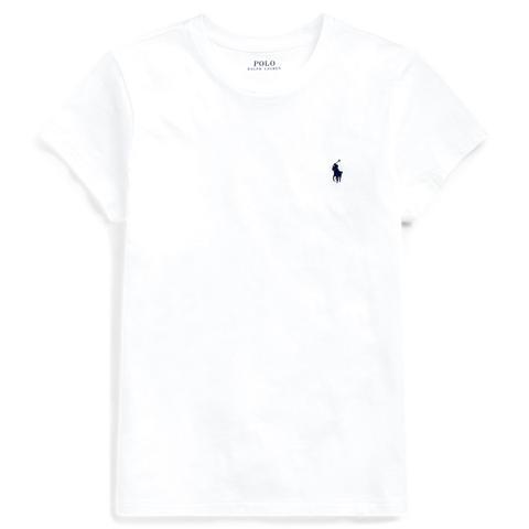 Camiseta De Algodón De Cuello Redondo de Ralph Lauren en 21 Buttons