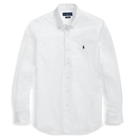 Camisa De Popelina Slim Fit de Ralph Lauren en 21 Buttons