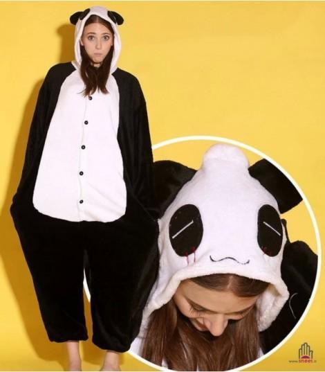 spedizione gratuita af1df 31d75 Pigiamone Panda from Dream Shop on 21 Buttons