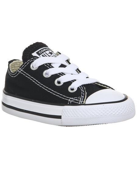Converse Allstar Low Infant Black White