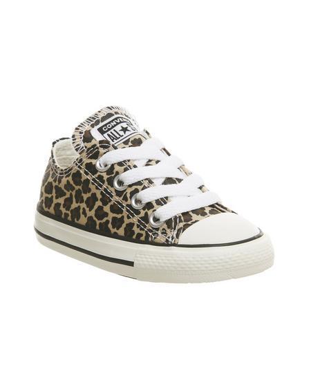 Converse Allstar Low Infant Leopard