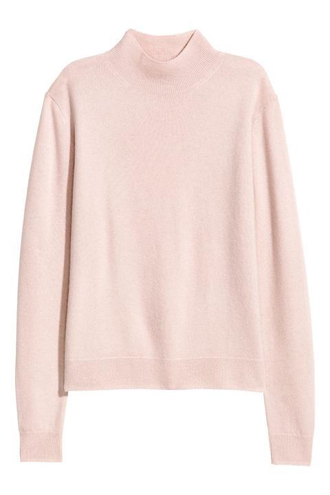 Jersey De Cachemir - Rosa de H&M en 21 Buttons