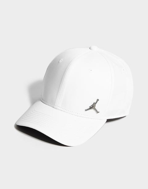 Jordan Jumpman Metallic Cap - White