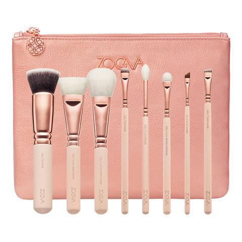 Rose Golden Luxury Set Vol.2 Kit De Brochas Y Pinceles Para Rostro Y Ojos de Sephora en 21 Buttons