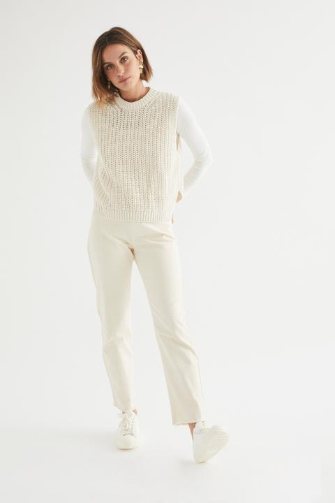 Pantalón Tejano Louise Slim de eseOese en 21 Buttons