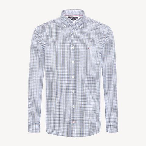 Camisa De Cuadros Texturizada de Tommy Hilfiger en 21 Buttons