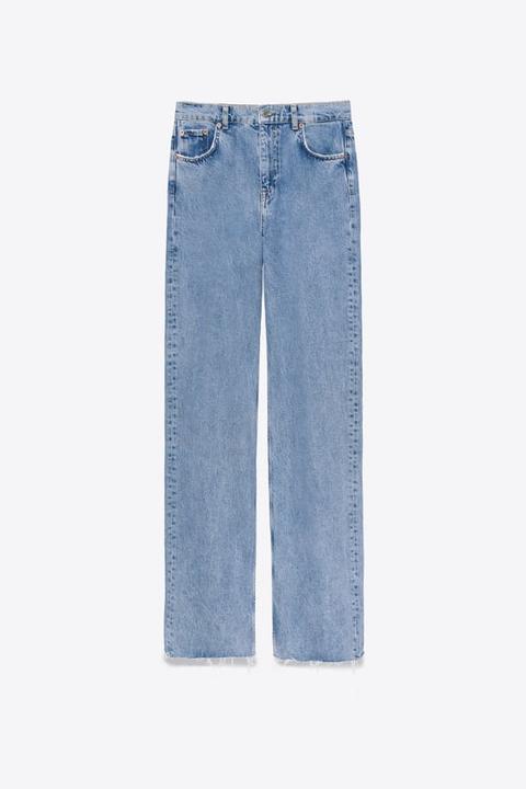 Jeans Zw Premium 90s Wide Leg Sky Blue Extra Largo